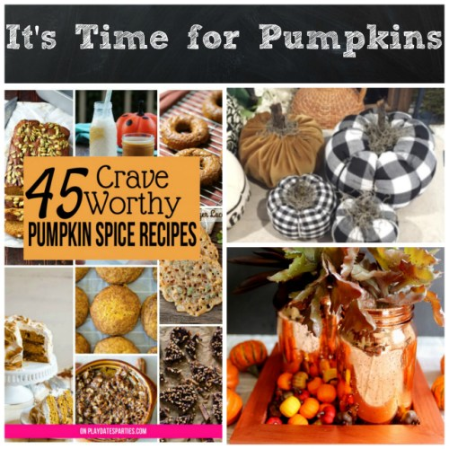 It's Time for Pumpkins at Sunday Features {143}