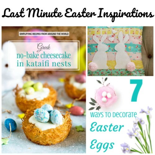 Last Minute Easter Inspiration at Sunday Features {169}