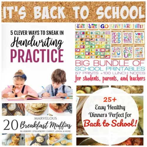 It's Back to School at Sunday Features {190)