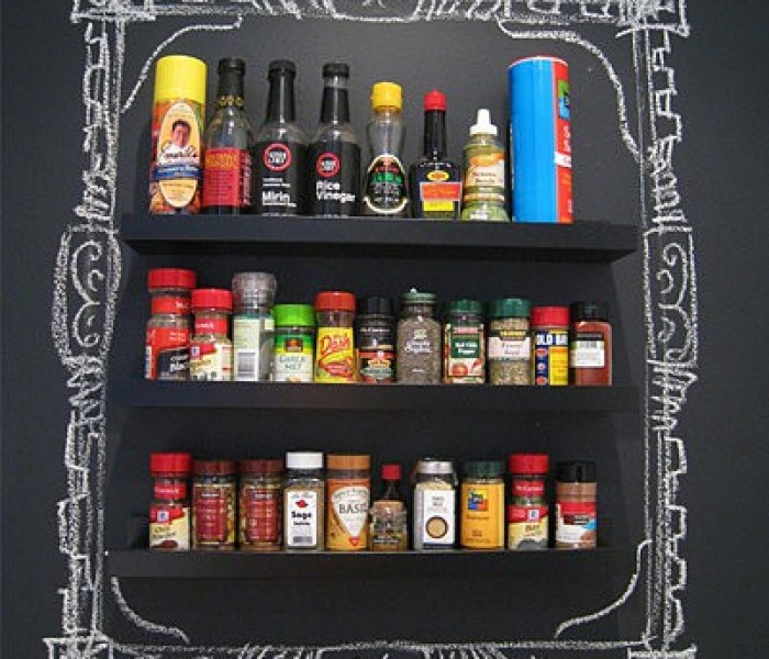 spice chalk wall