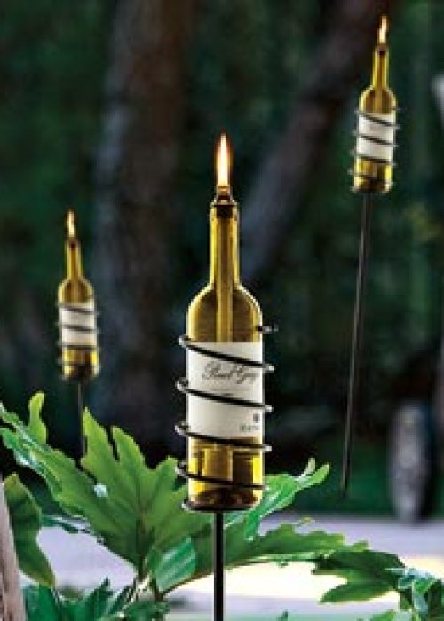 wine torches from solutions