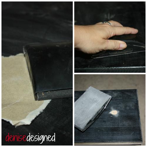 dresser sanding Dresser Re Dressed