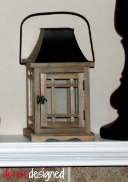 mantel lantern