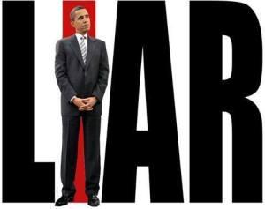 Obama pembohong ..