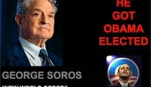 Soros & Obama Aug 23 2016...