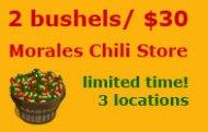 2 Bushels for $30