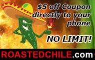 Coupon at Roasted Chili