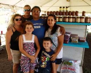 Morales family chili store