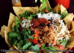 Garlic Pulled Chicken Nachos
