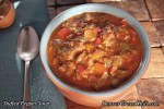 Stuffed Pepper Soup with Chiles