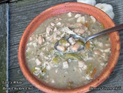 Lori's First Place White Bean Chicken Chili