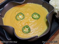 Butternut Squash and Chile Soup