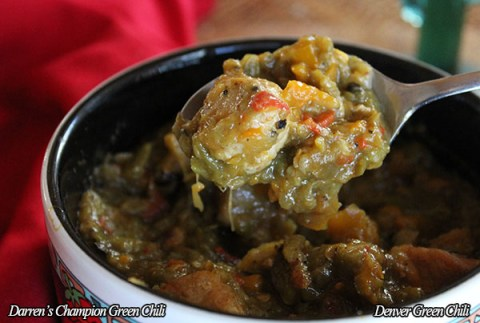 Darren's Award Winning Green Chili