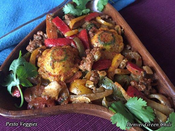 Pesto Veggies