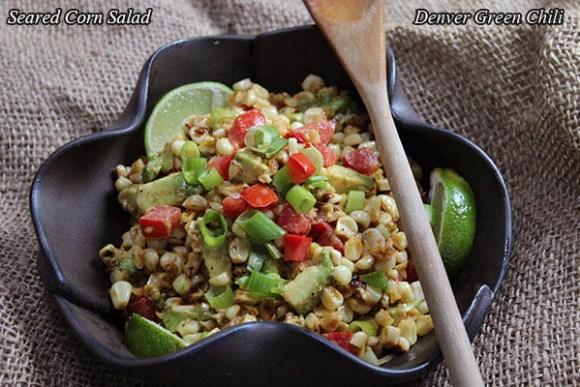 Seared Corn and Avocado Salad