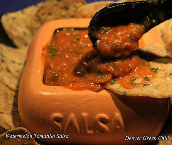 Watermelon Tomatillo Sauce