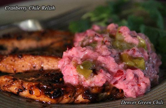 Cranberry Relish with Chiles
