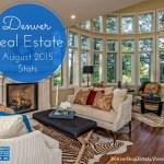 Denver Real Estate Market Statistics – August 2015