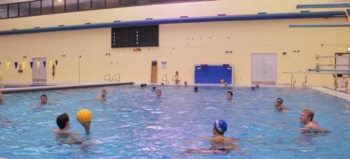 Depaul S Water Polo Club Gearing Up For First Competition