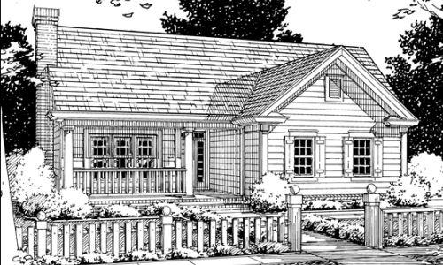 Casa campestre de cuatro dormitorios y 135 metros cuadrados
