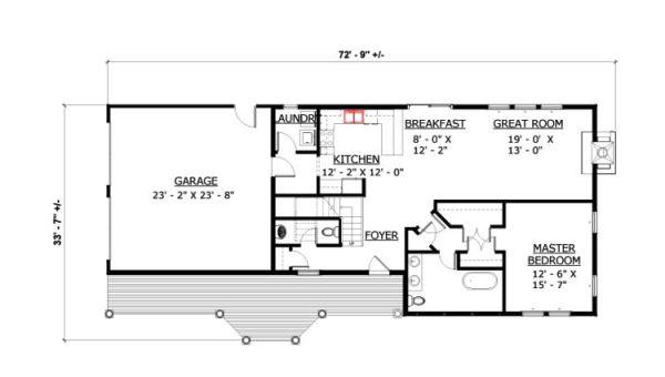 Casa de dos pisos 3 habitaciones y 172 metros cuadrados - Banos de 2 metros cuadrados ...