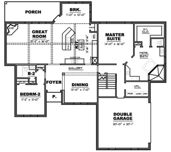 Casa de dos plantas tres dormitorios y 228 metros - Planos casas planta baja ...