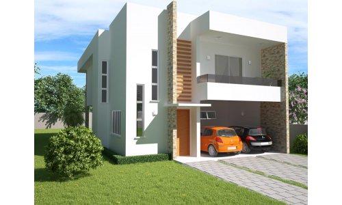 Ver planos de casas modernas de dos plantas planos de for Casa moderna gratis