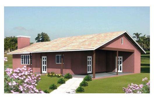 Casa de clase media de 2 dormitorios y 94 metros cuadrados