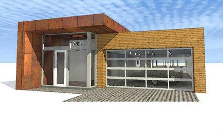 Planos con quincho planos de casas gratis deplanos com - Planos de casas modernas de una planta ...