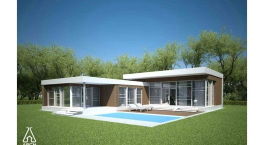 Planos de casas modernas de un piso gratis planos de for Casa quinta moderna