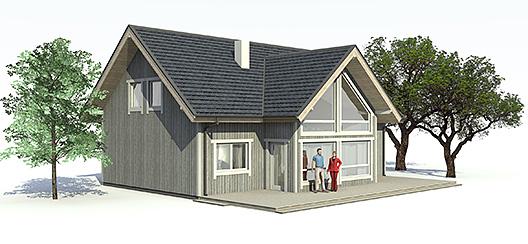 Casa moderna de 2 plantas, 4 dormitorios y 170 metros cuadrados