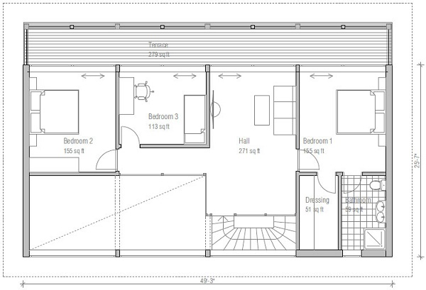plano segundo piso