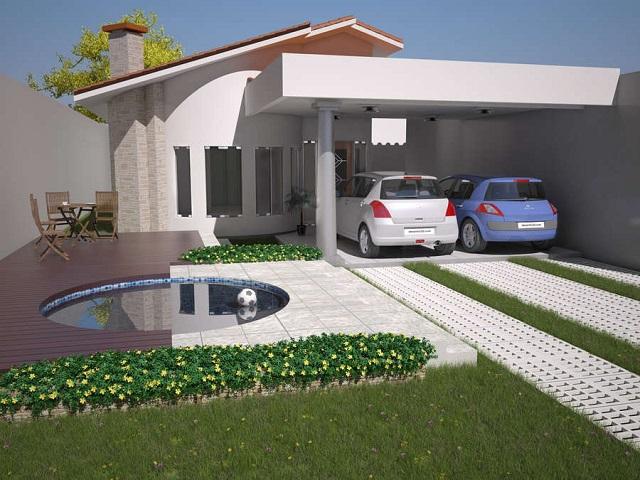 Ver planos de casas de un piso y tres dormitorios planos - Planos casa una planta ...