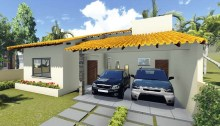 Comoda casa de una planta, tres dormitorios y 149 metros cuadrados