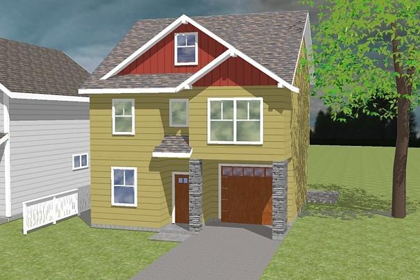 Interesante casa de dos plantas tres dormitorios y 163 for Casa 2 plantas 160 metros cuadrados