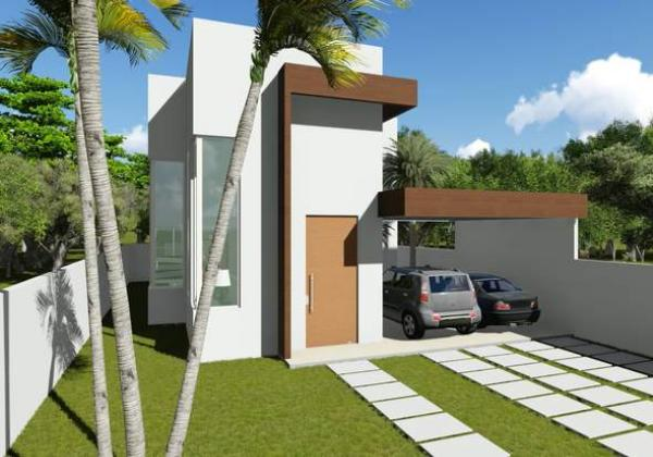 Ver planos de casas modernas de dos pisos planos de for Casa minimalista 4 dormitorios
