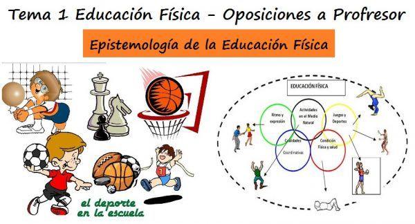 Tema 1. Epistemología de la Educación Física: evolución y desarrollo de las distintas concepciones y de su objeto de estudio
