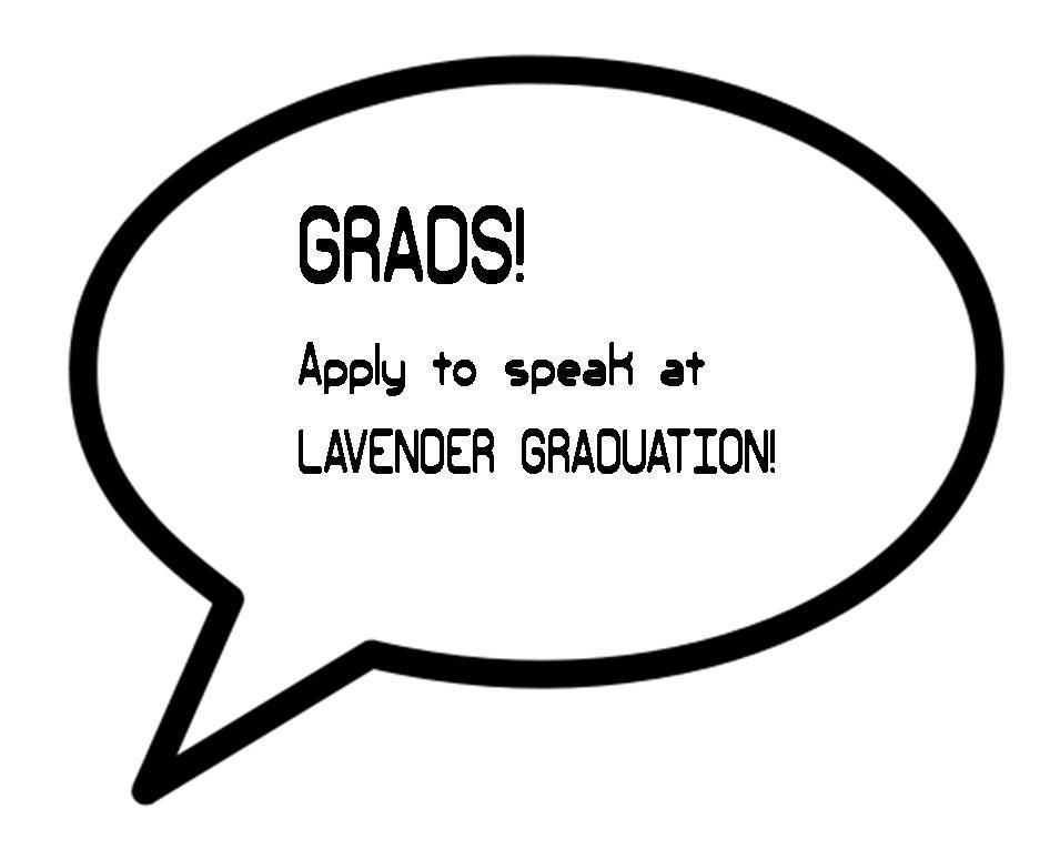 apply to speak at lav grad
