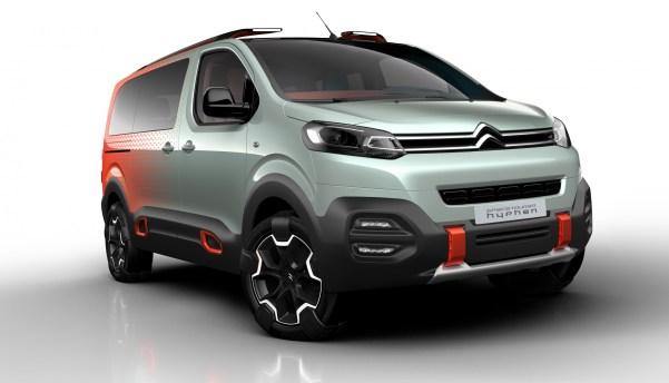 Concept Car Citroën SpaceTourer Hyphen