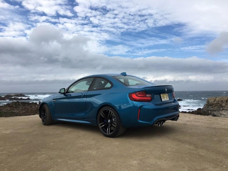 BMW M2 Coupe Heckansicht