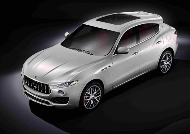 Maserati Levante Seitenansicht