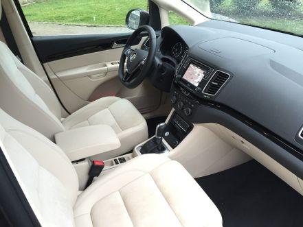 VW Sharan Innenraum