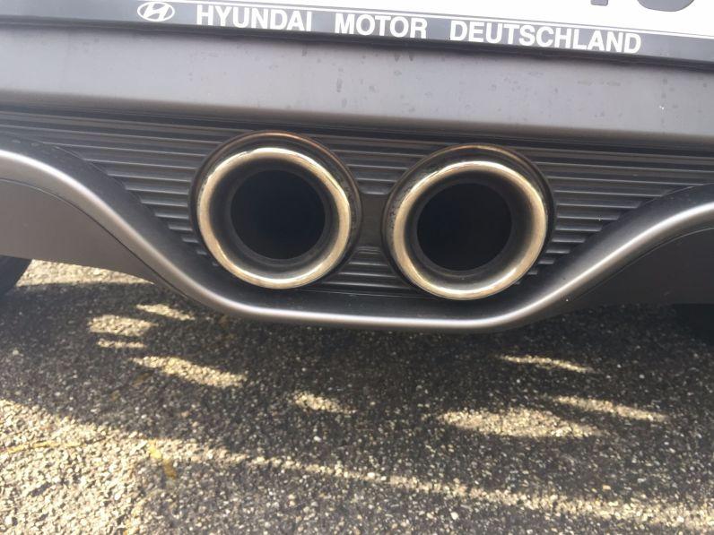 Hyundai Veloster Auspfuff