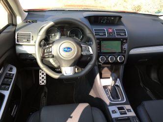 Subaru Levorg Cockpit