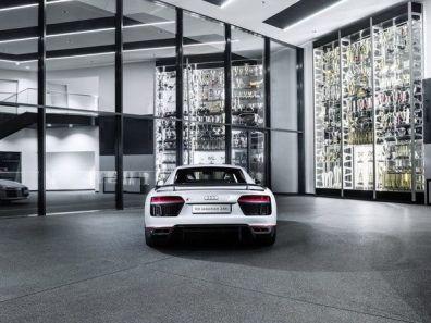 Audi R8 Coupé V10 plus Heck