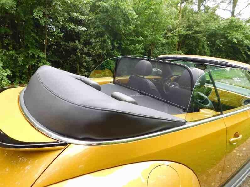 VW Beetle Dune Windschott
