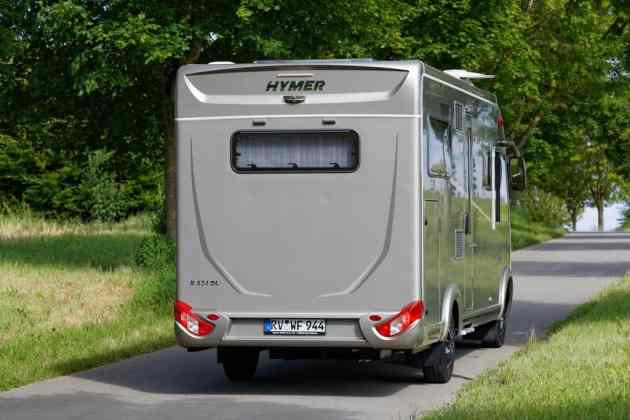 Hymer Duomobil Heck