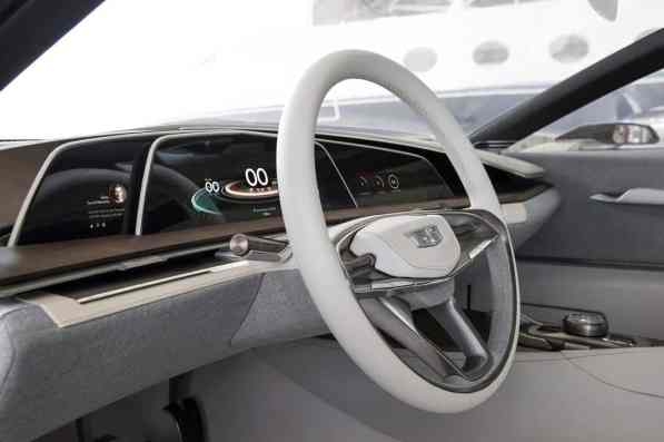 Cadillac Escala Concept Cockpit