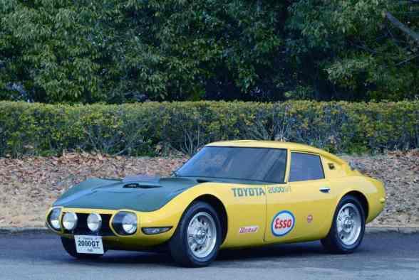 """Toyota 2000 GT aus dem James-Bond-Film """"Man lebt nur zweimal"""" (1967)"""