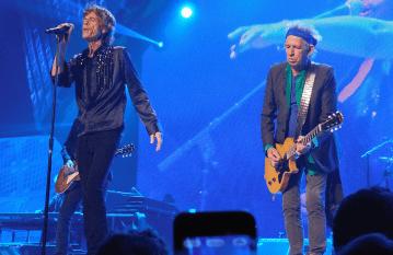 Mick Jagger und co sorgen für glühend Rollatoren-Räder.
